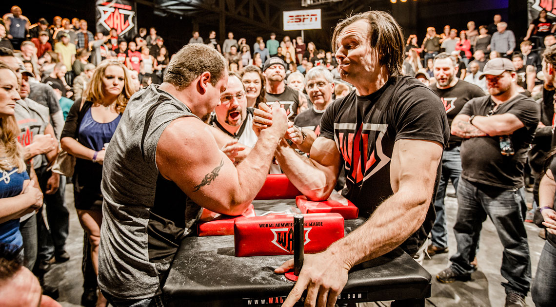 Brand Identity and Style Guide for the World Armwrestling League