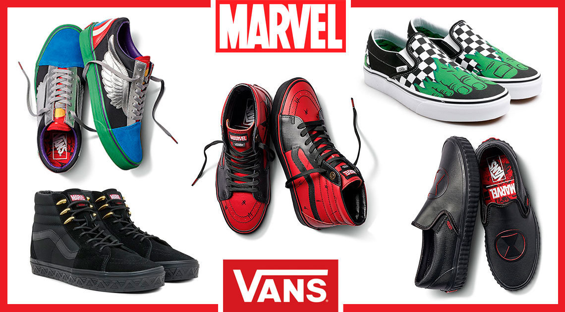 Marvel and Vans - Co-Branded Collaboration