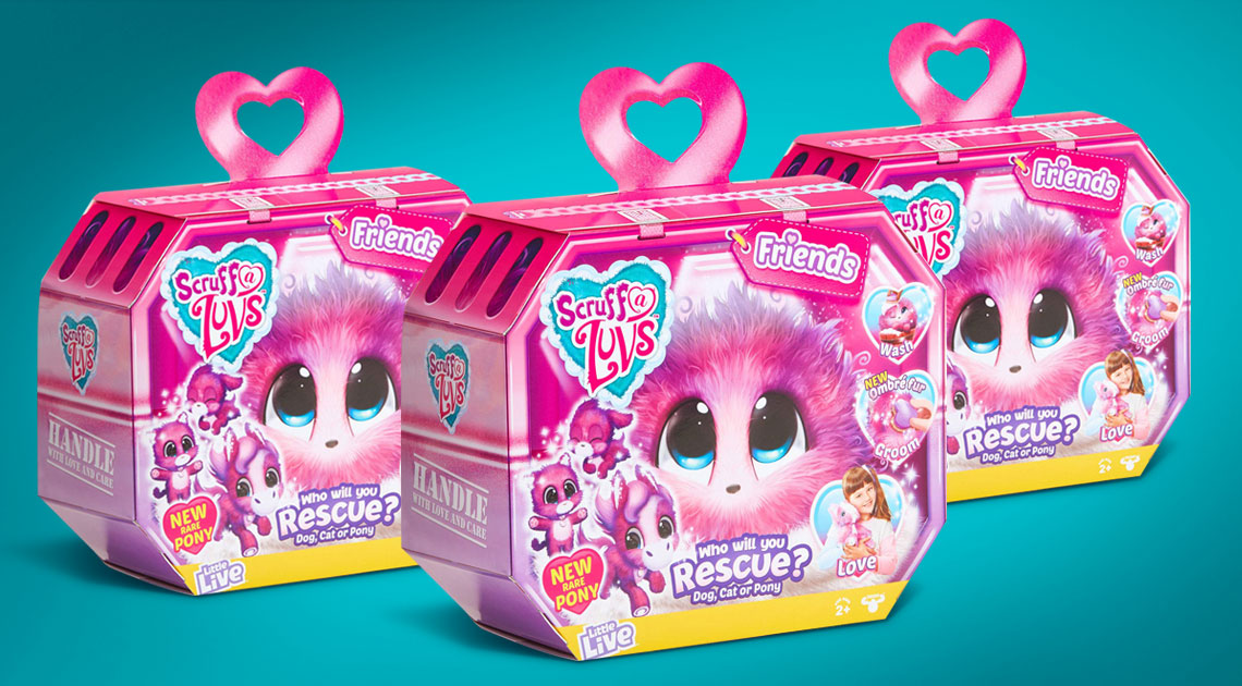 Kids especially love a toy when they get the bonus of packaging that adds play value.