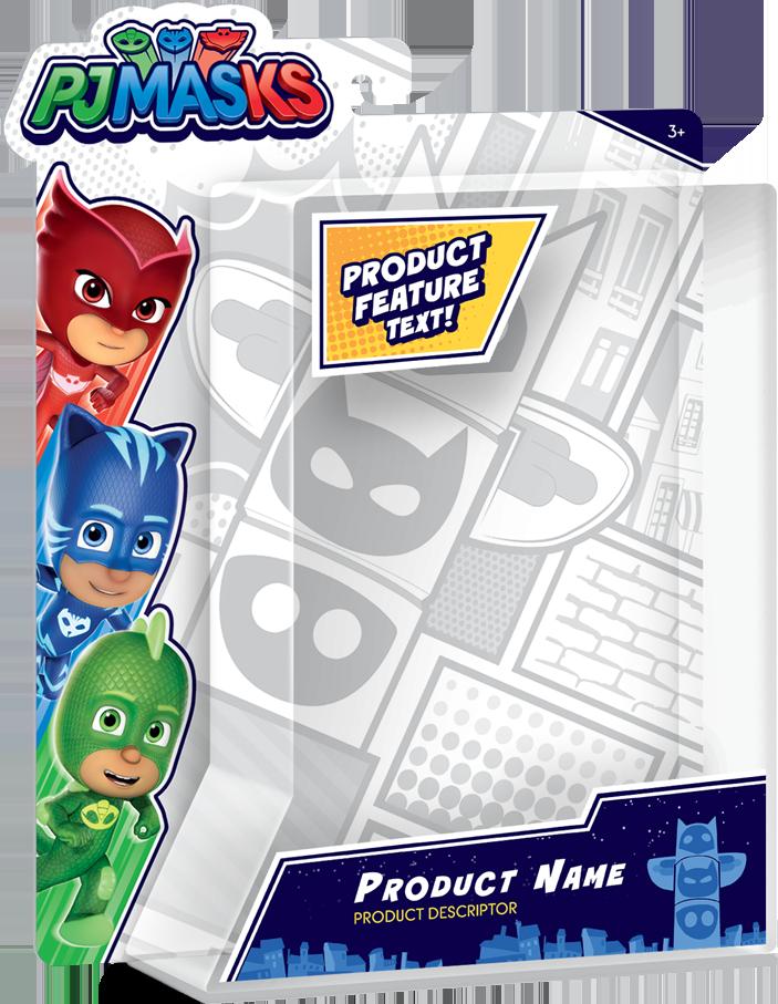 PJ Masks Packaging Design