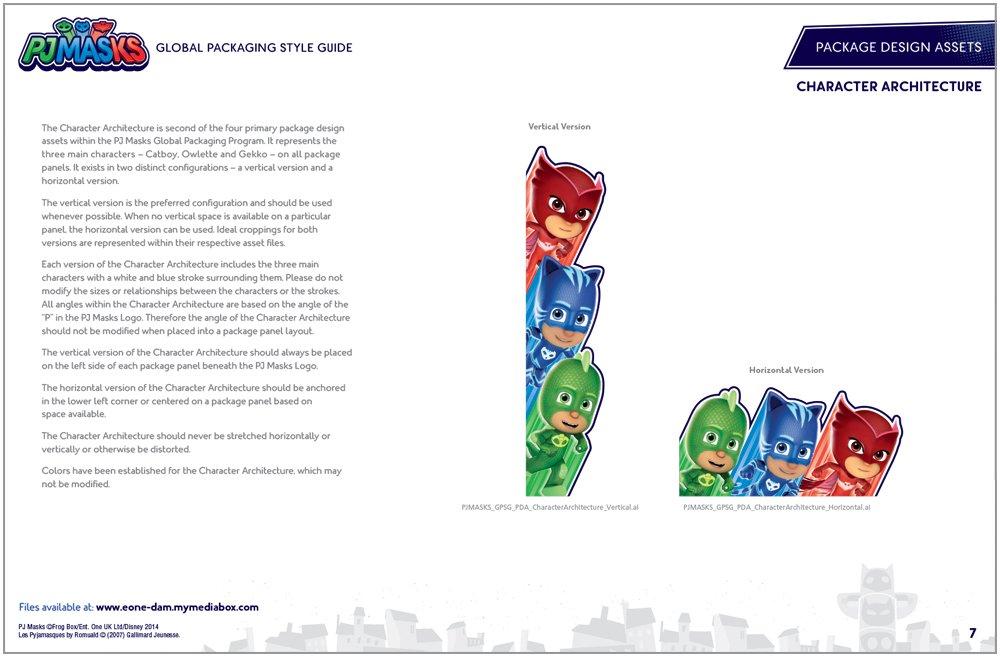 PJ Masks Packaging Design - 2