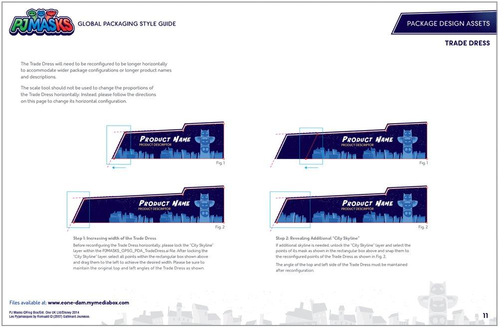 PJ Masks Packaging Design - 3