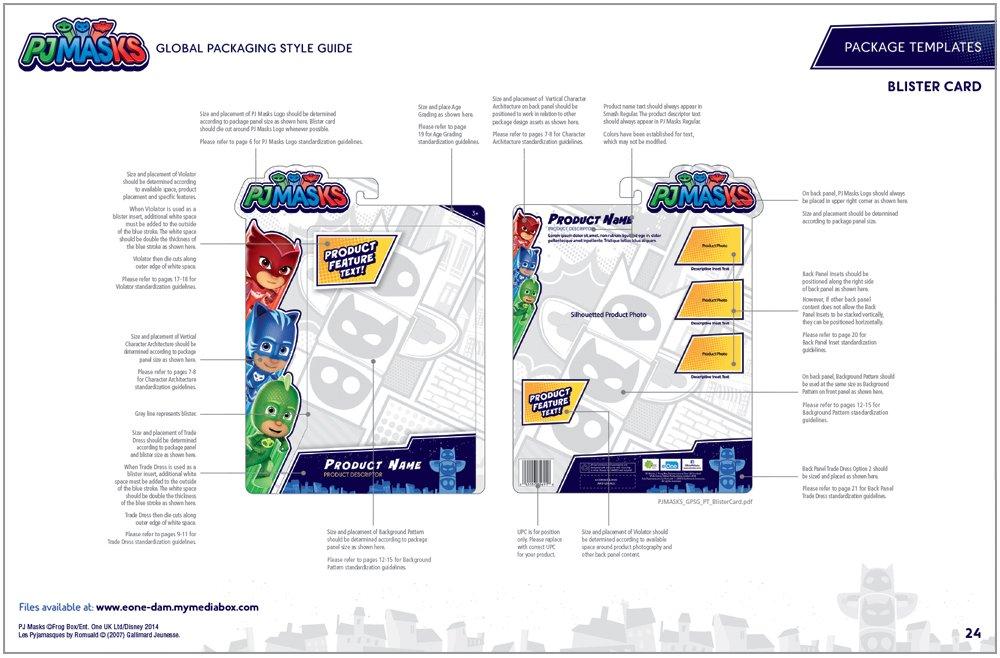 PJ Masks Packaging Design - 5
