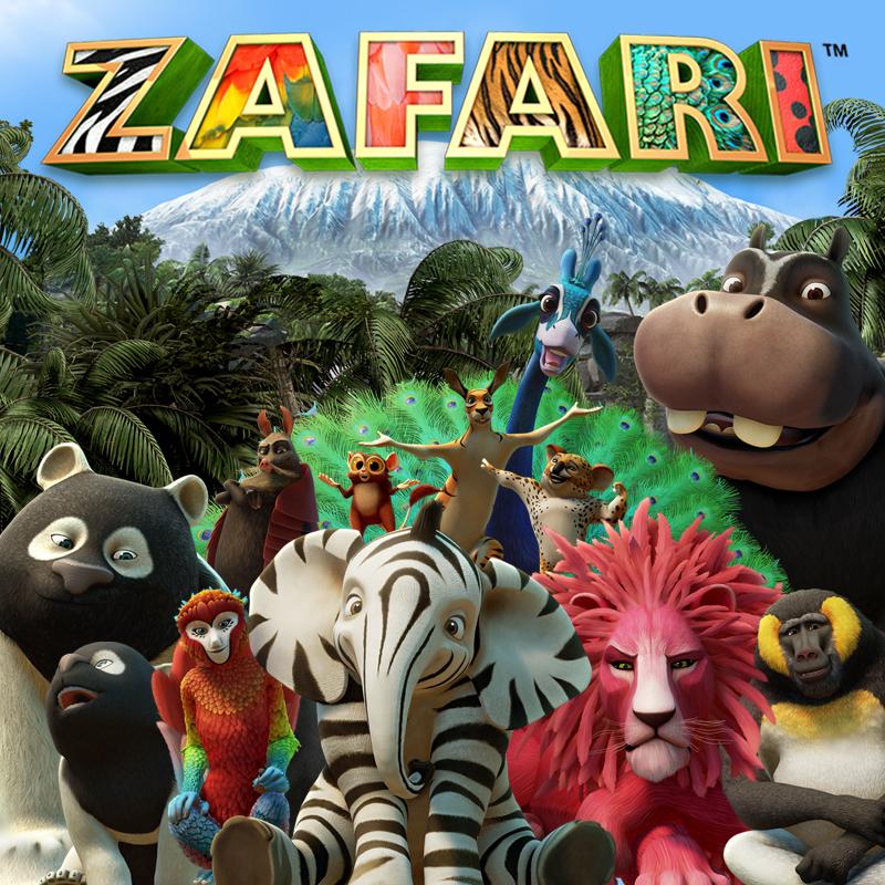 ZAFARI Style Guide - Portfolio