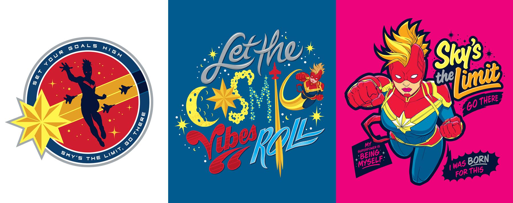 Captain Marvel Style Guide Design - Panel 3