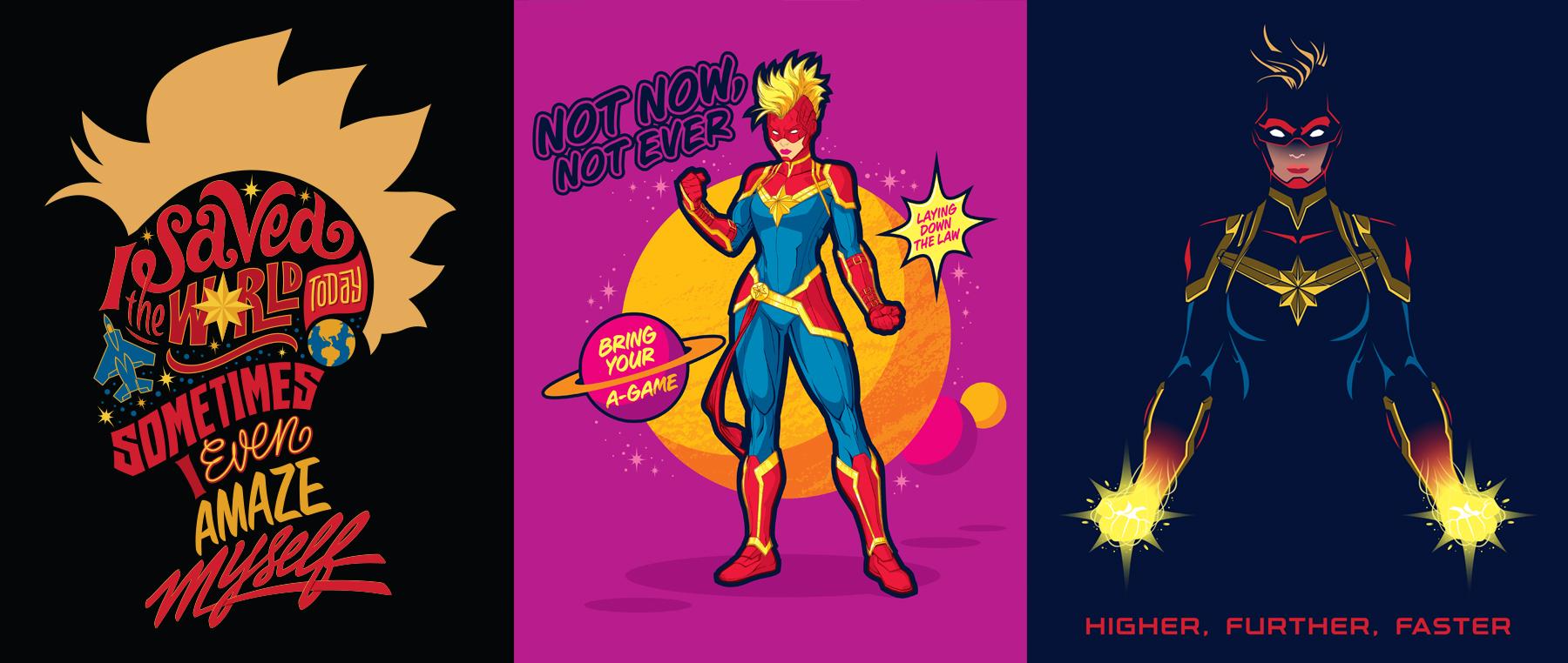 Captain Marvel Style Guide Design - Panel 5