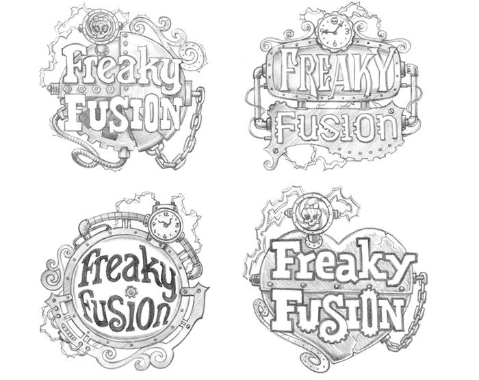 Monster High Freaky Fusion Branding - Panel 1