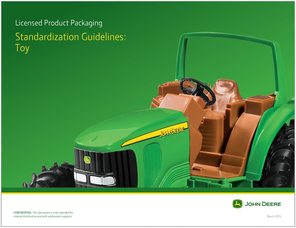 John Deere Toy Packaging Design 1