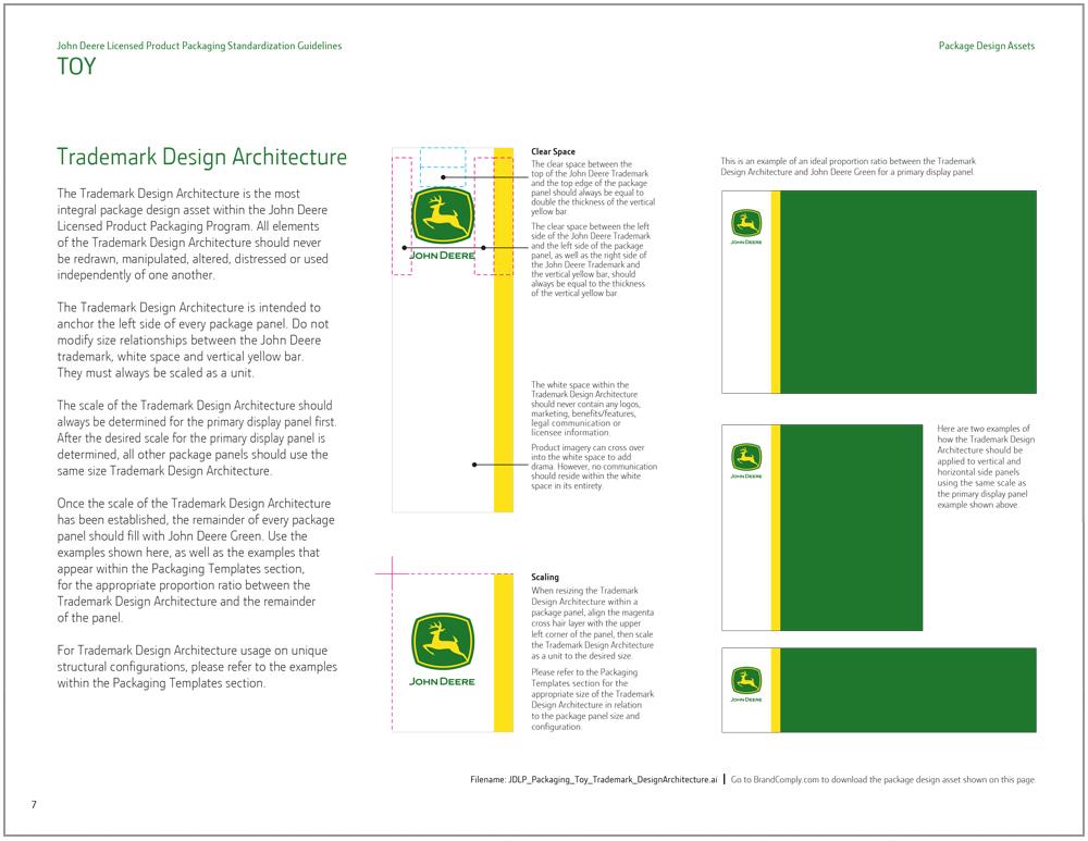 John Deere Toy Packaging Design 3