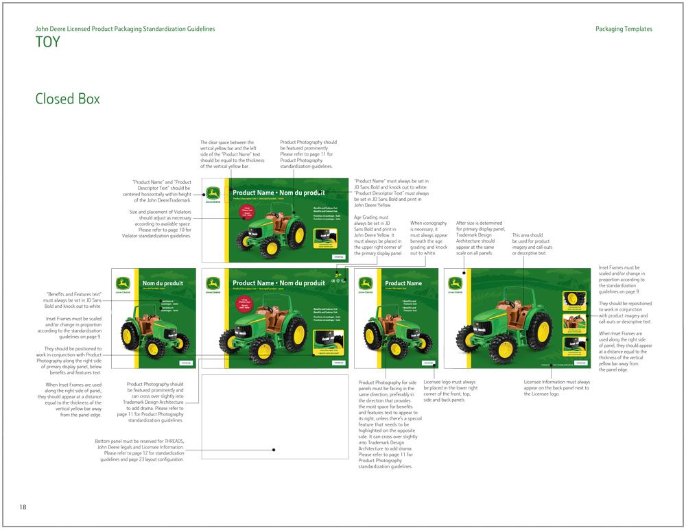 John Deere Toy Packaging Design 8