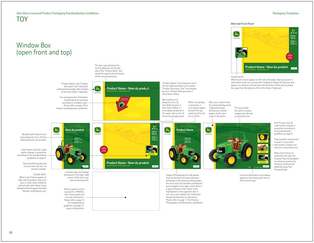 John Deere Toy Packaging Design 9