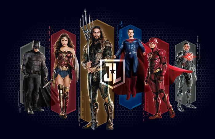 Justice League Style Guide Design - Panel 1