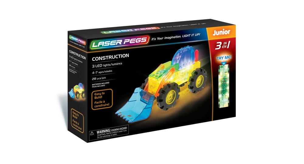 Laser Pegs Branding and Packaging Design - Panel 3