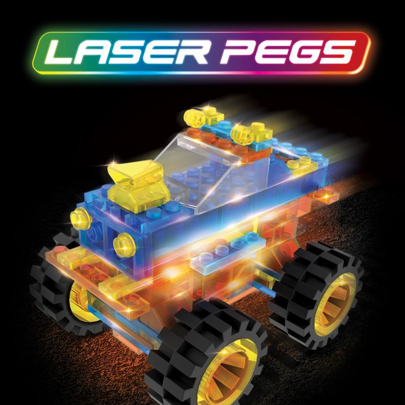 Laser Pegs Branding and Packaging Design - Portfolio
