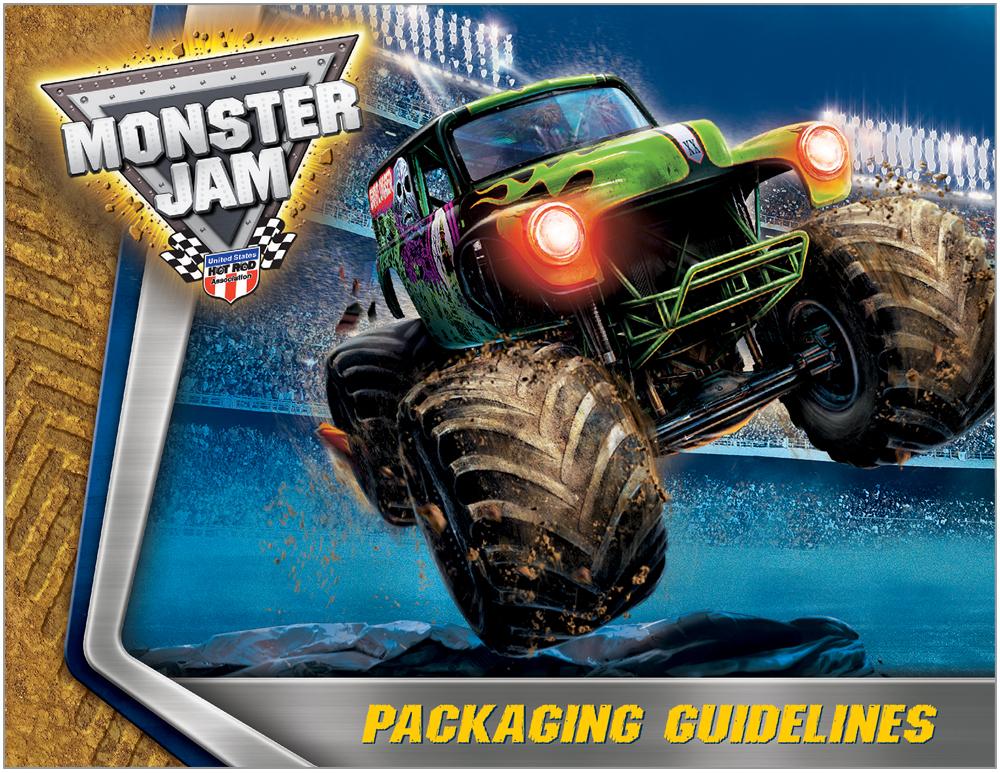 Monster Jam Packaging 1