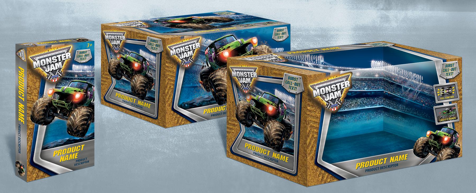 Monster Jam Packaging - Panel 2