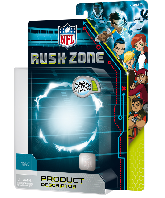 NFL Rush Zone Packaging - Package Design 1