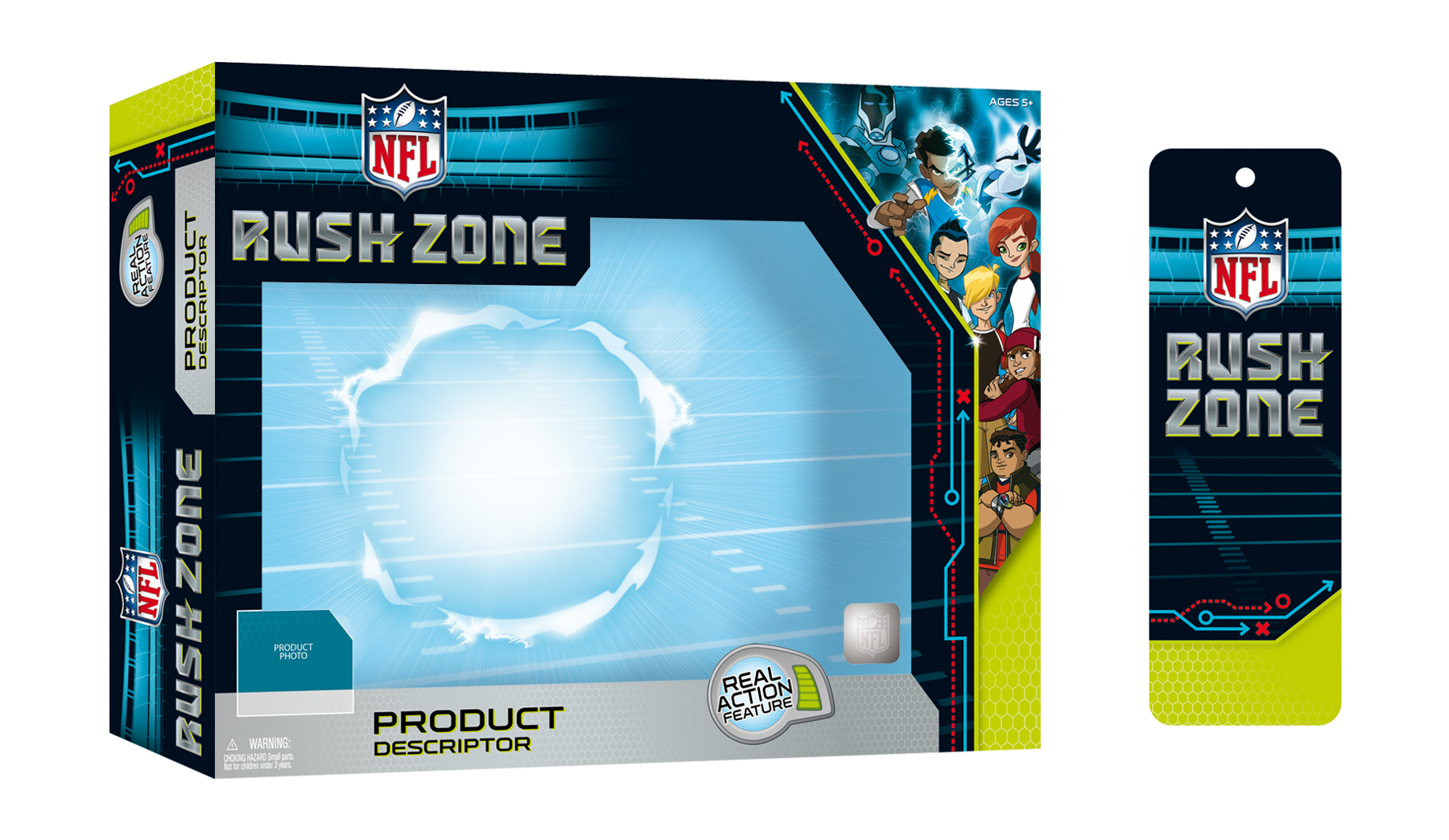 NFL Rush Zone Packaging - Package Design 2