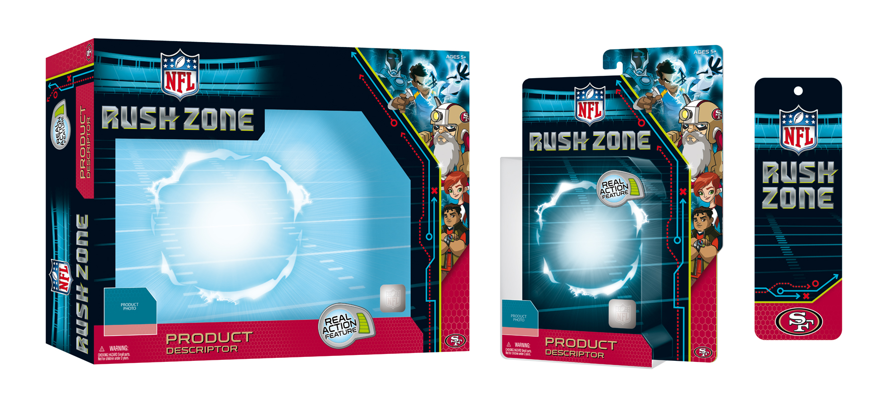 NFL Rush Zone Packaging - Package Design 3