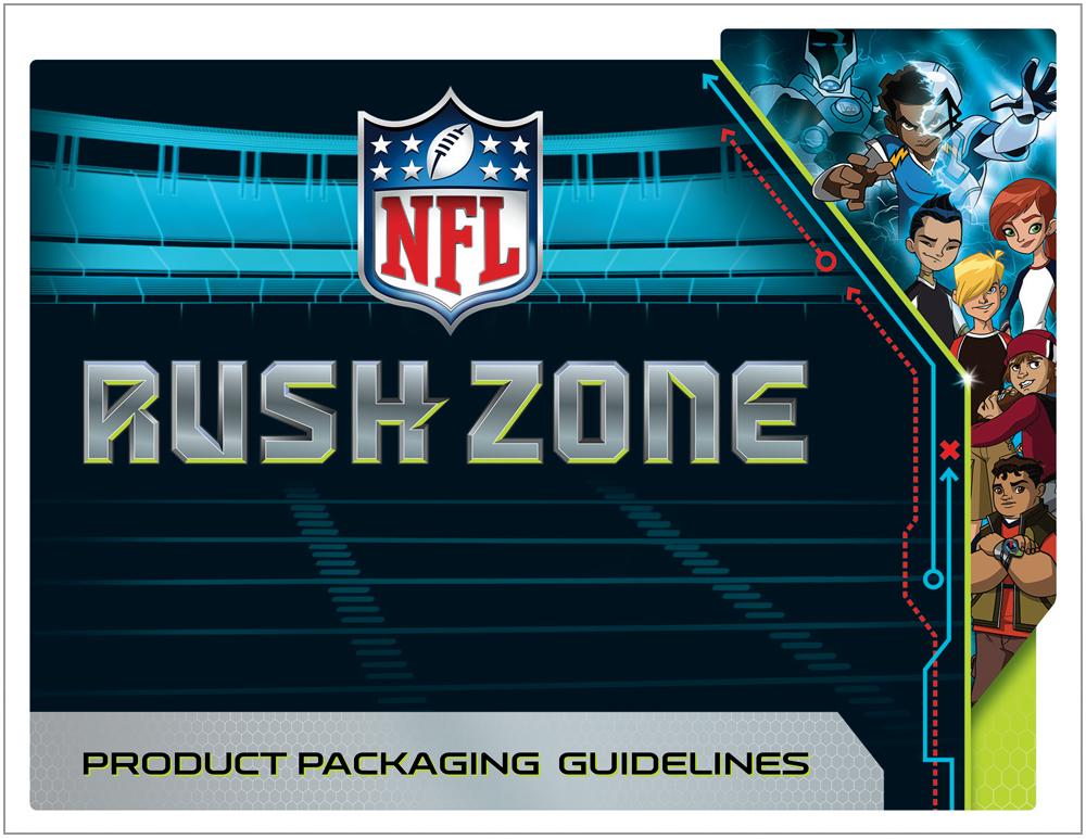NFL Rush Zone Packaging - Packaging Design 1