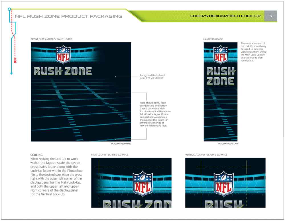 NFL Rush Zone Packaging - Packaging Design 4
