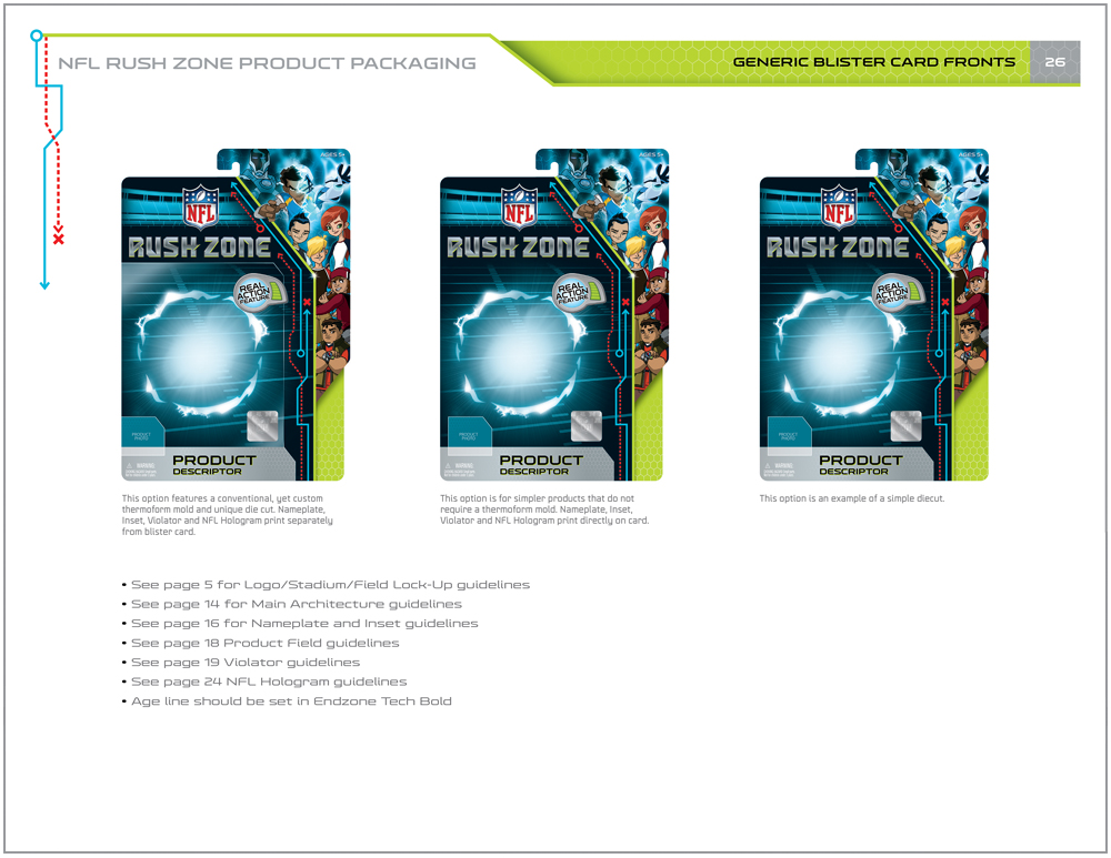 NFL Rush Zone Packaging - Packaging Design 9