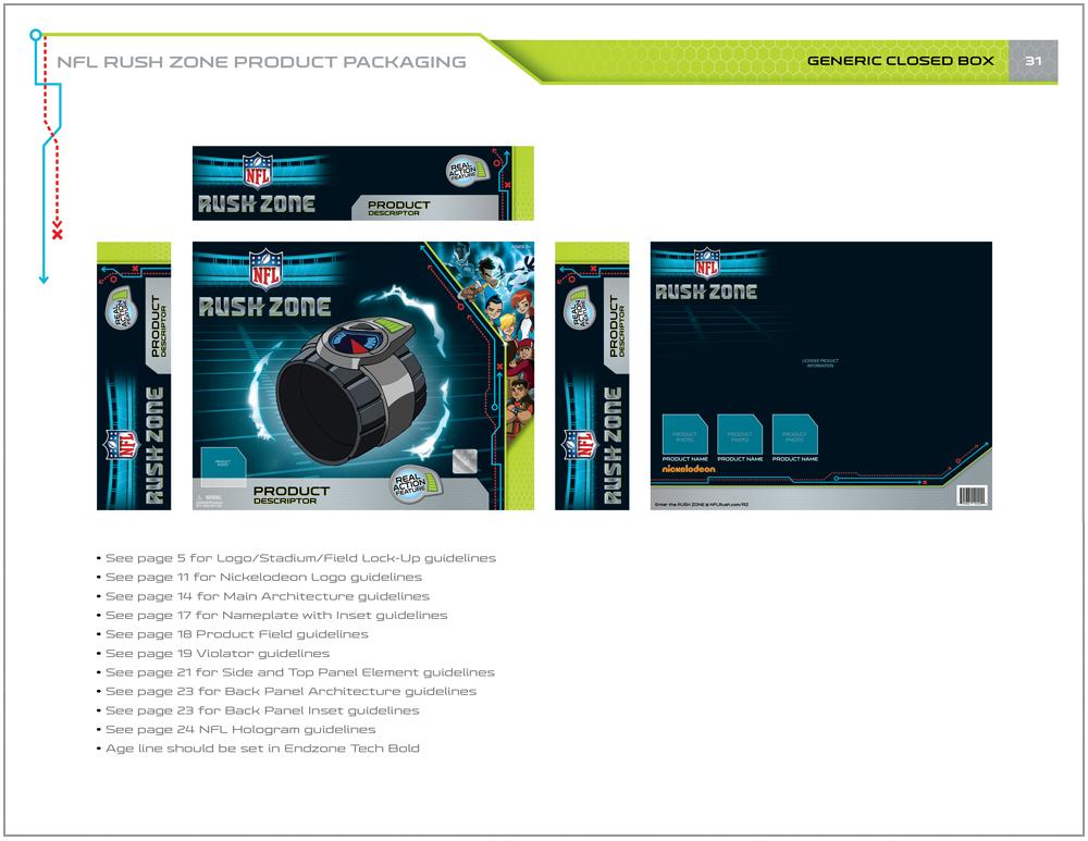 NFL Rush Zone Packaging - Packaging Design 10