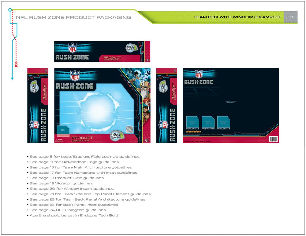 NFL Rush Zone Packaging - Packaging Design 11