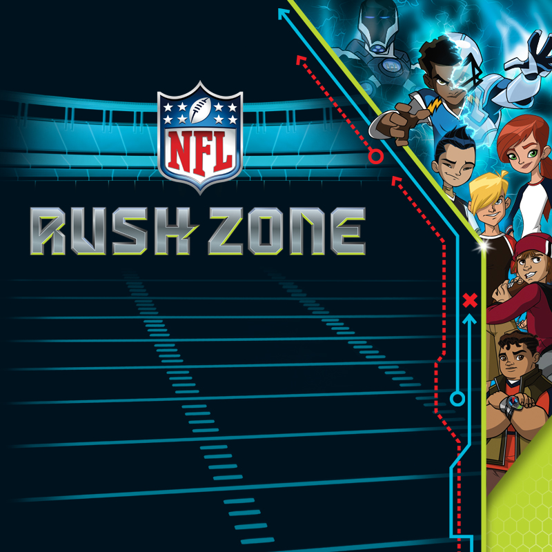 NFL Rush Zone Packaging - Portfolio