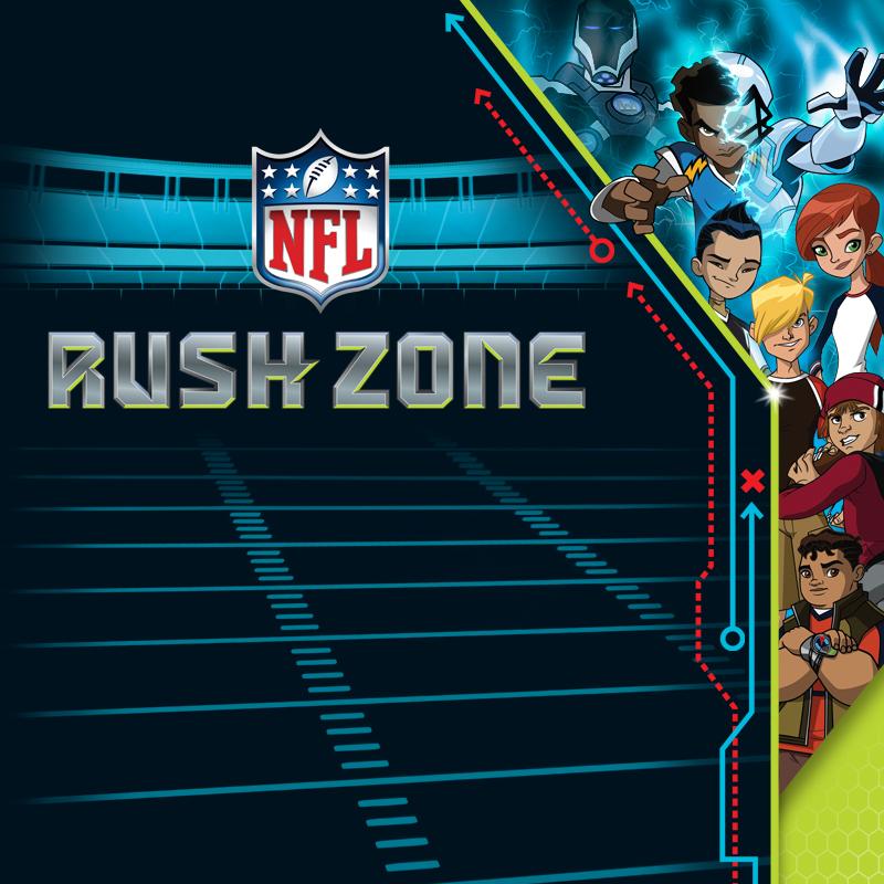 NFL Rush Zone Packaging - Portfolio