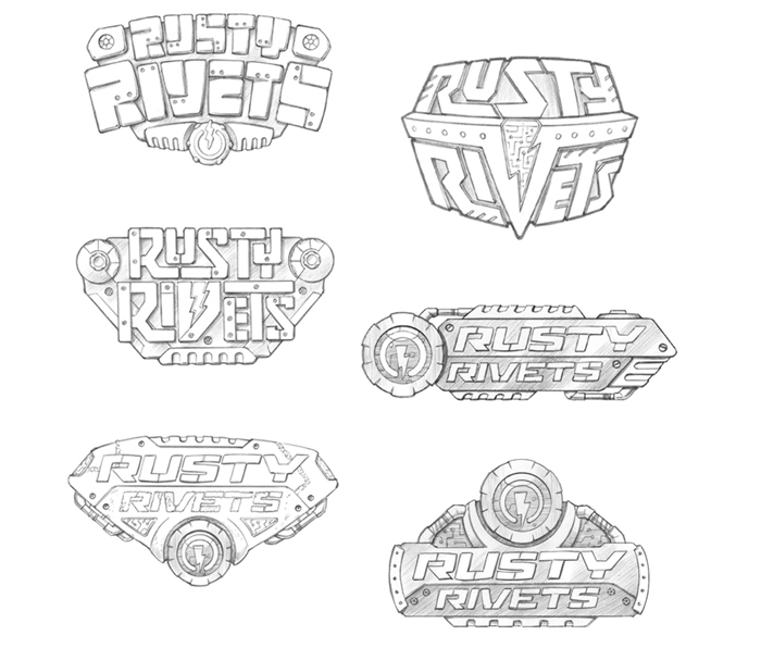 Rusty Rivets Branding - Img 1