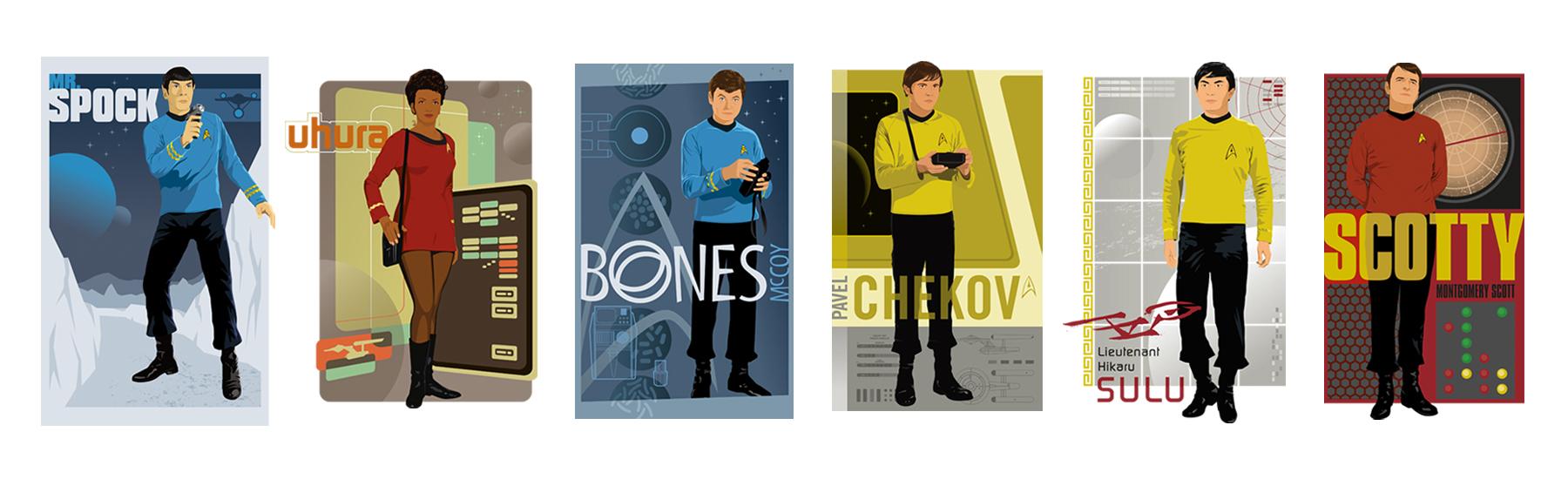 Star Trek Universe Style Guide Design - ID 3