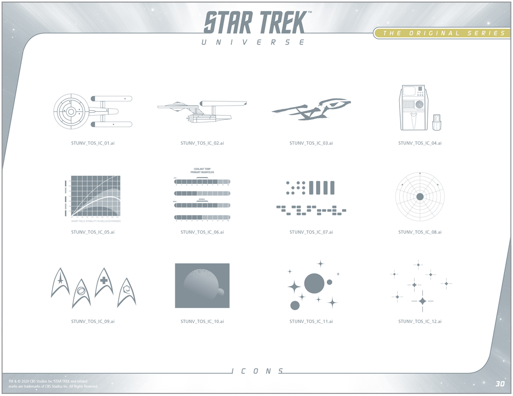 Star Trek Universe Style Guide Design 5