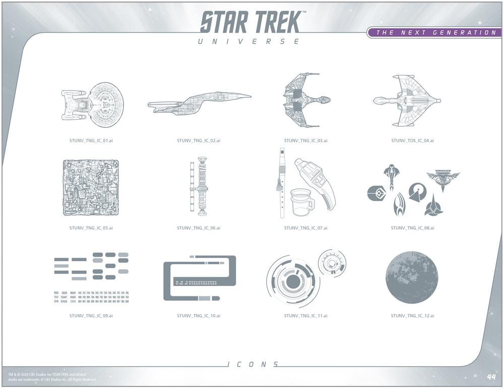 Star Trek Universe Style Guide Design 8