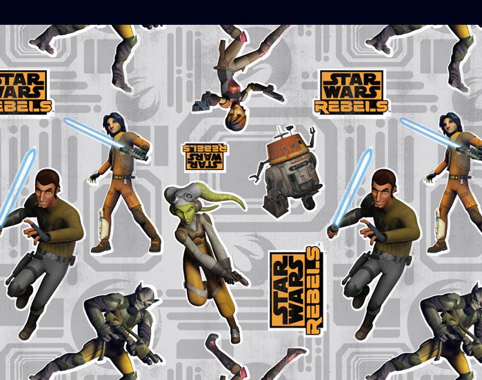 Star Wars: Rebels Style Guide Design - Guide 1