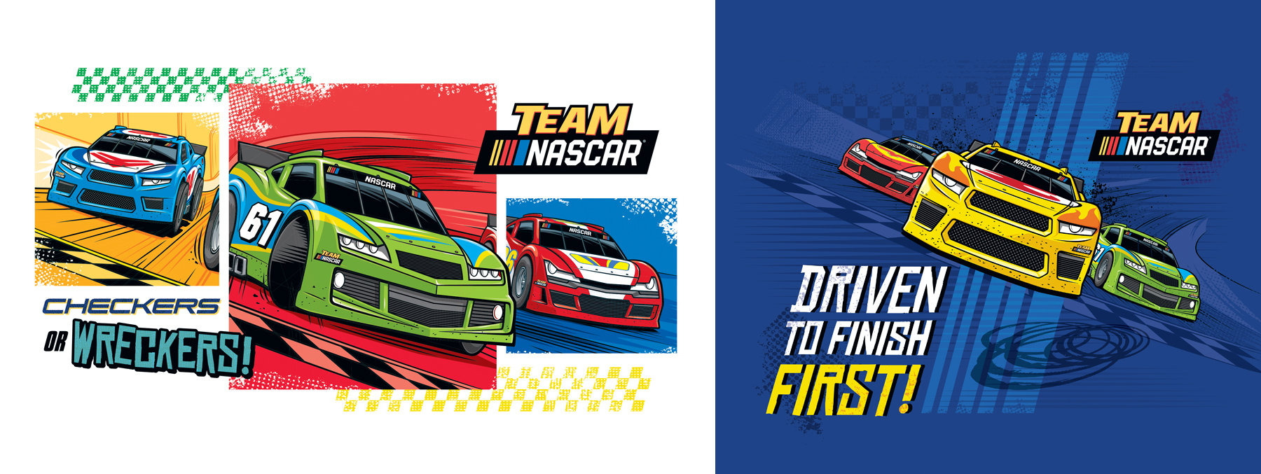 Team Nascar Style Guide Design - Panel 3