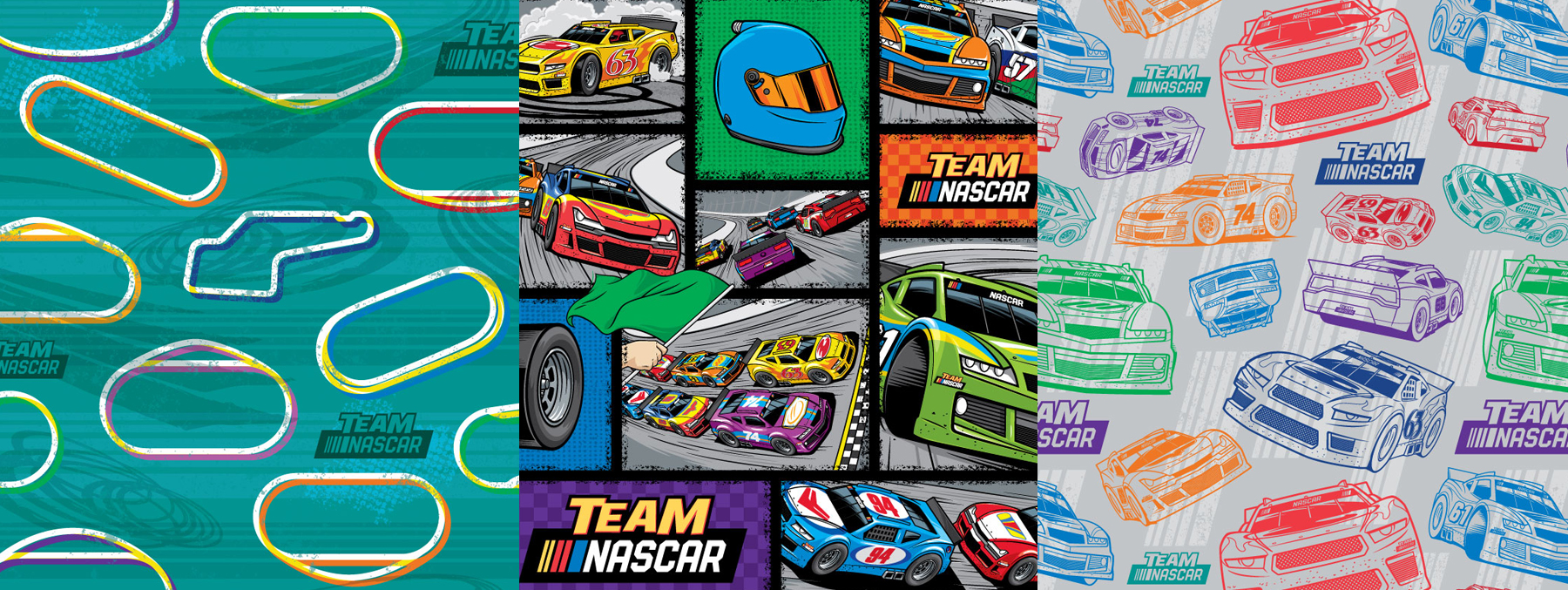 Team Nascar Style Guide Design - Panel 4