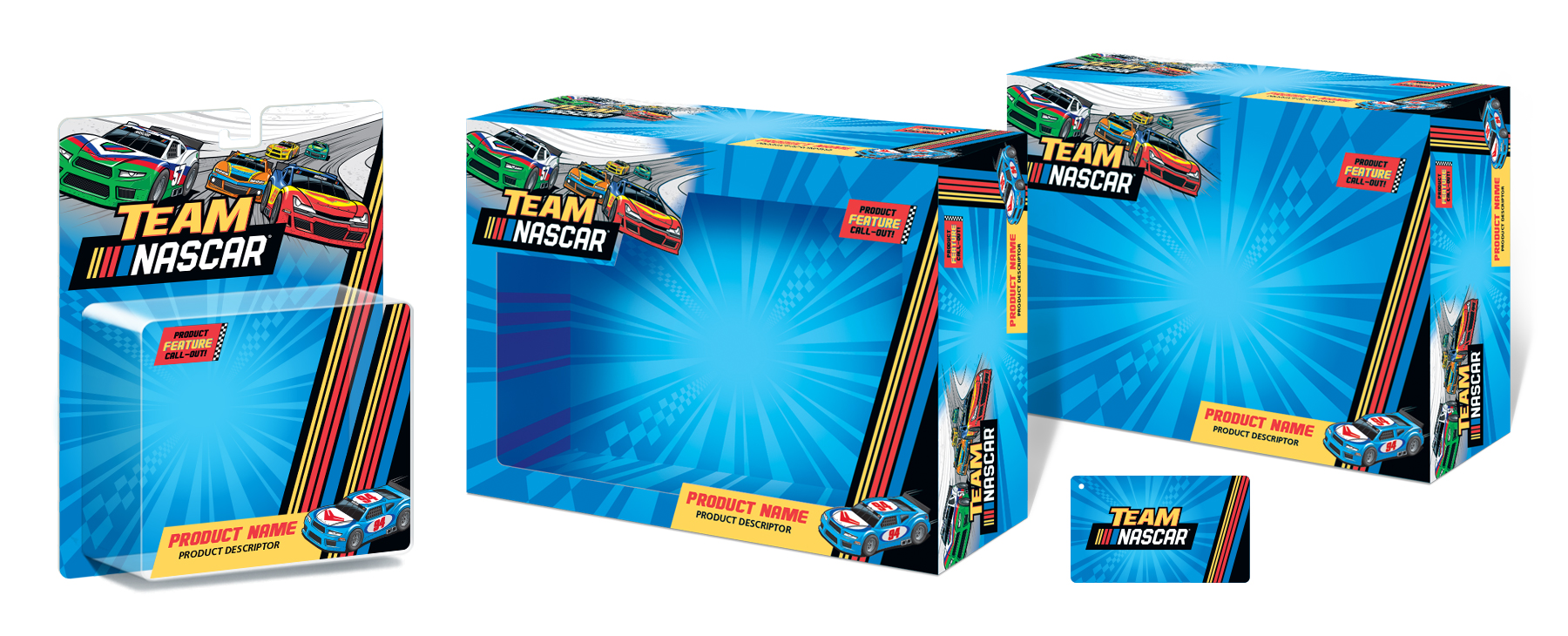 Team NASCAR - Packaging Design