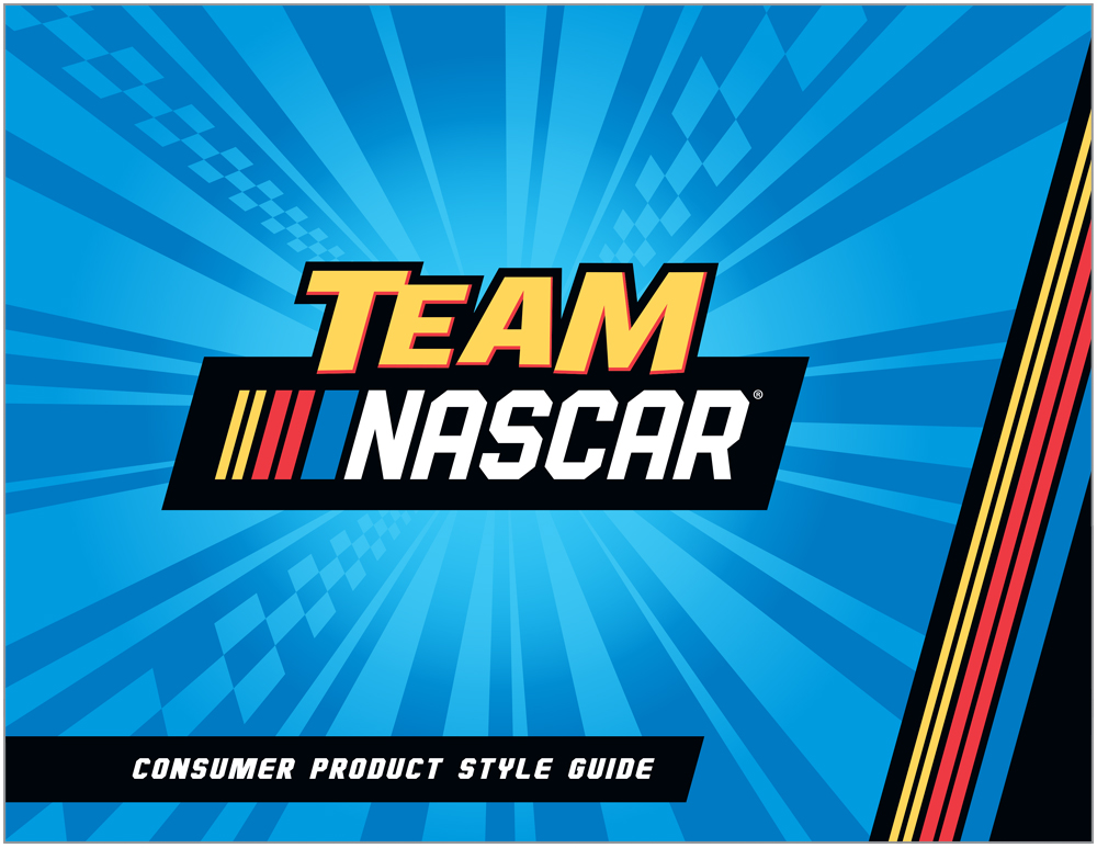 Team Nascar Style Guide Design - 1