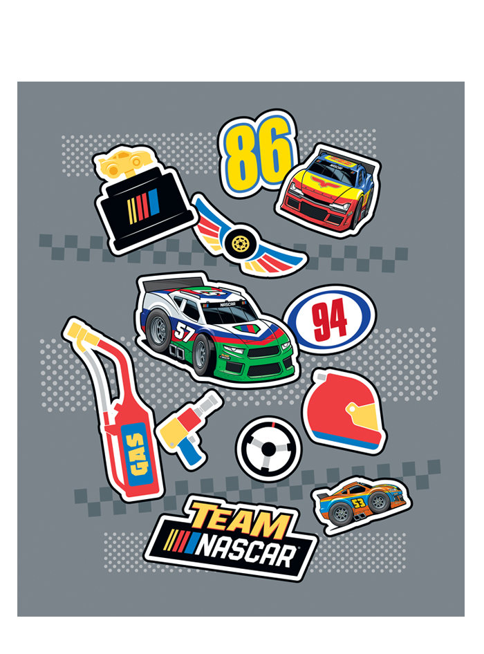 Team Nascar Brand Style Guide Design