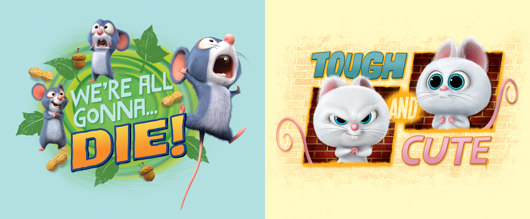 The Nut Job 2 Style Guide Design - Panel 3