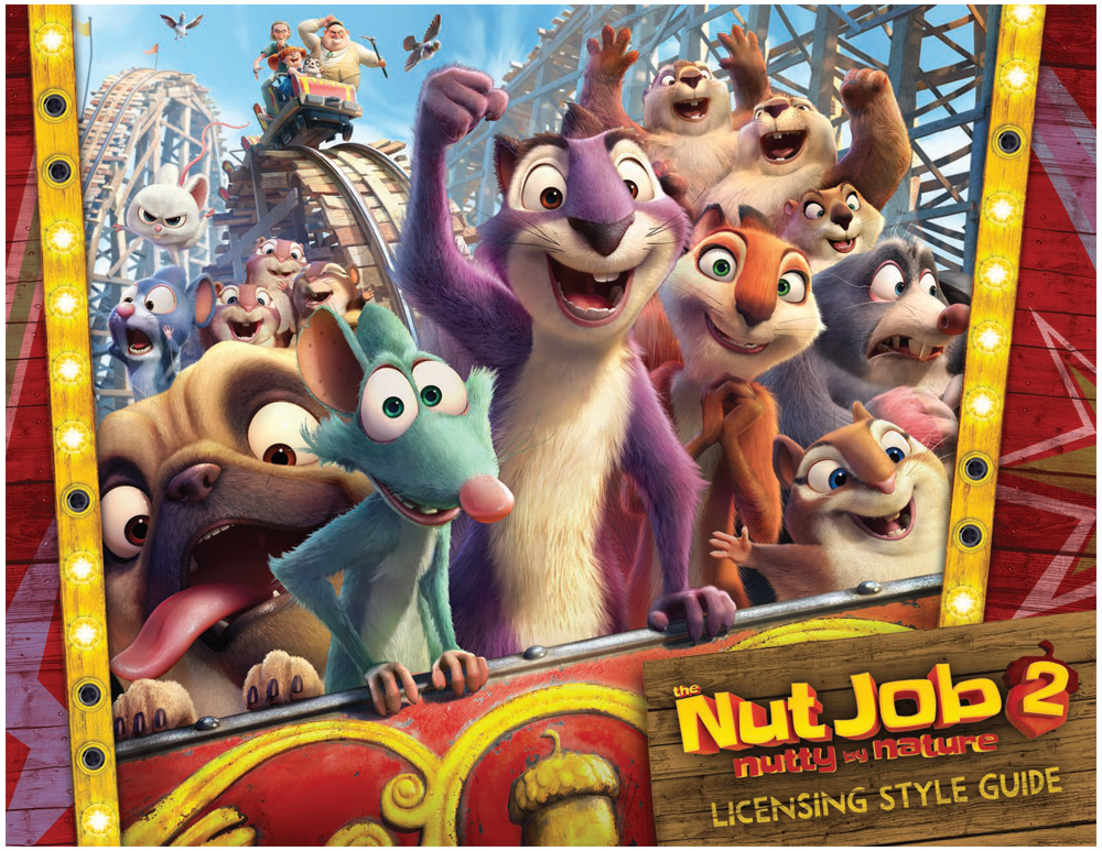 The Nut Job 2 Style Guide Design 1