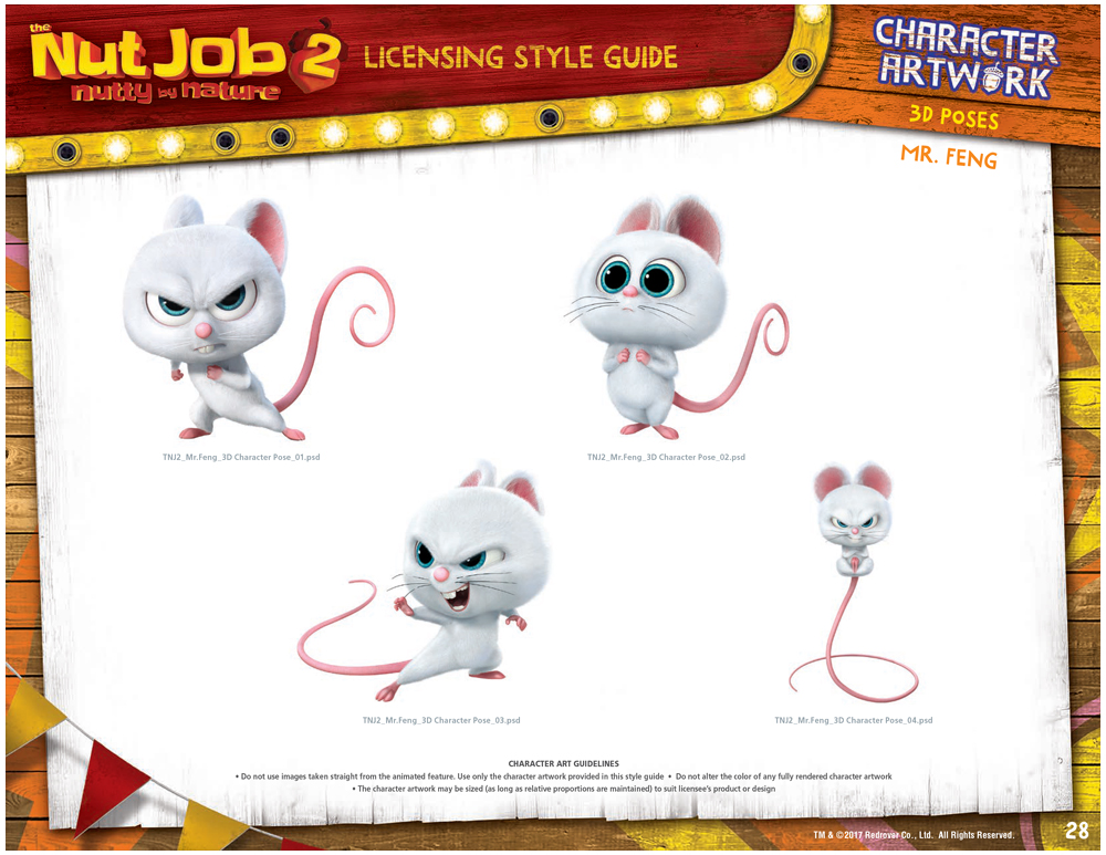 The Nut Job 2 Style Guide Design 8