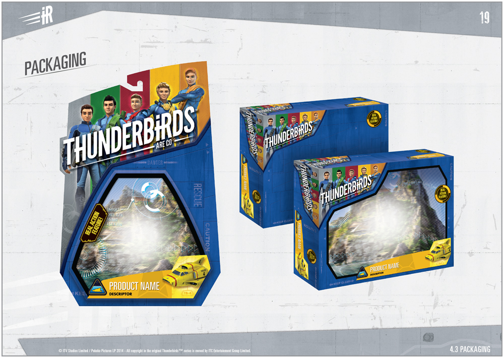 Thunderbirds are a Go Packaging - 1