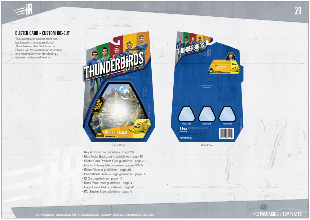 Thunderbirds are a Go Packaging - 2