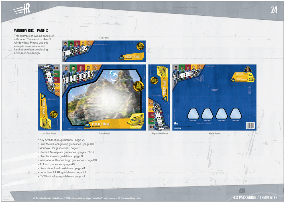 Thunderbirds are a Go Packaging - 3