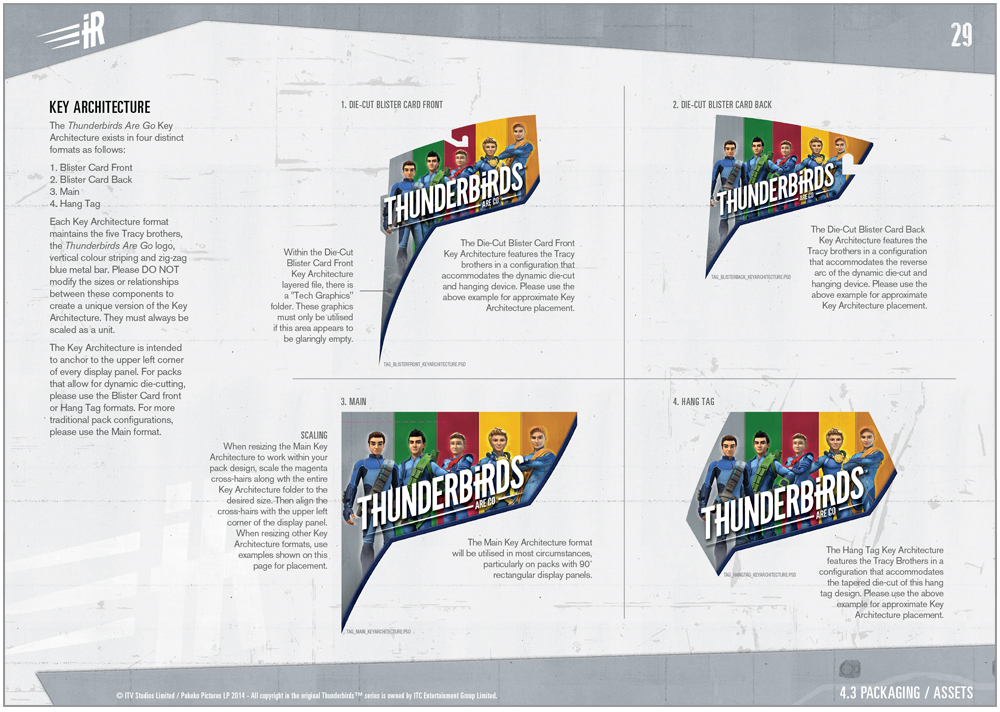 Thunderbirds are a Go Packaging - 4