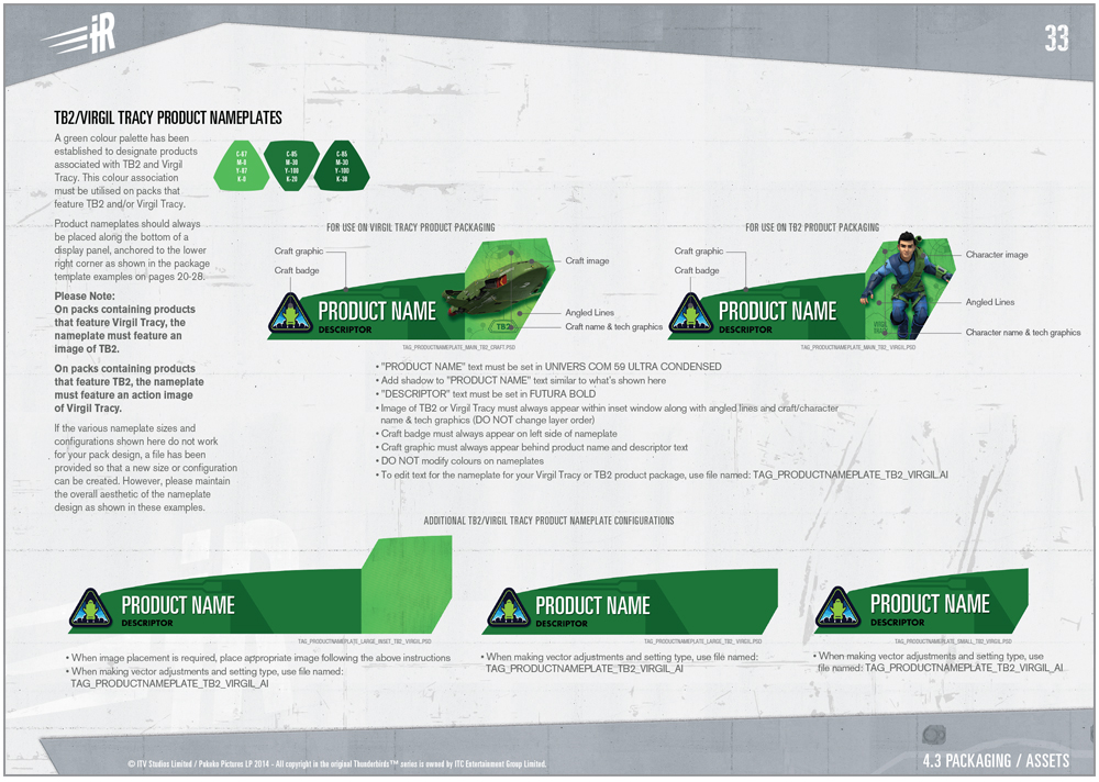 Thunderbirds are a Go Packaging - 6