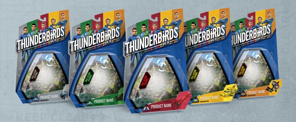 Thunderbirds are a Go Packaging - Panel 2