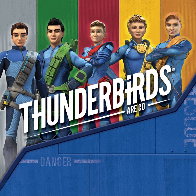 Thunderbirds are a Go Packaging - Portfolio